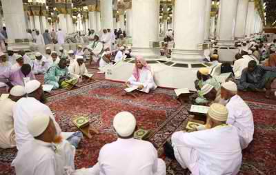 تفسير حلم رؤية أهل القرآن في المنام