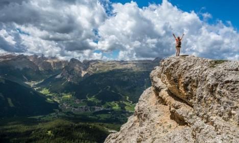 حلمت اني فوق جبل عالي في المنام