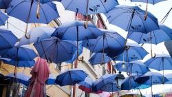 تفسير حلم المظلة الزرقاء في المنام